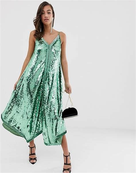 Sequin Dresses   Women's embellished party dresses   ASOS