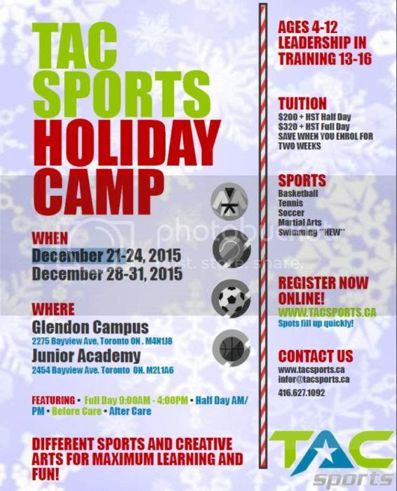 Tac Sports Holiday Camps