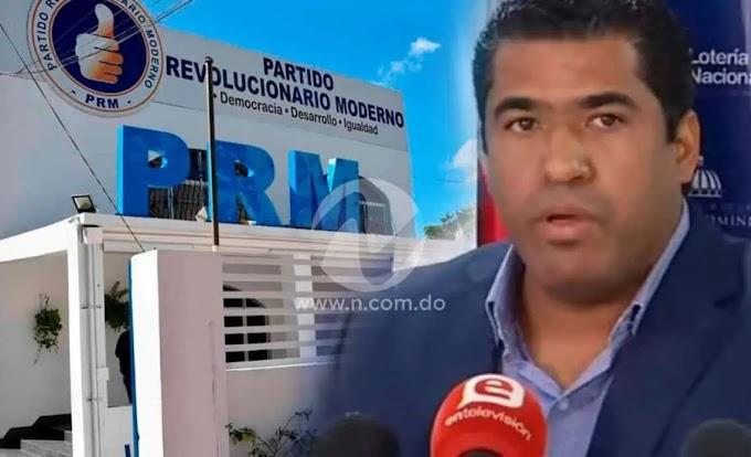 PRM PODRÍA EXPULSAR A DICENT DEL PARTIDO AL APODERAR SU CASO A SU FISCAL NACIONAL