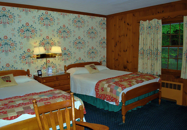 Room #117 at the Brookside Motel