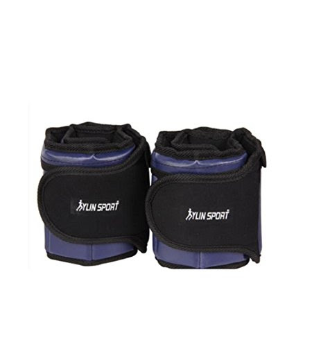 WE&ZHE Weight-bearing Belt Wrist Ankle Weights Training Sets Removable Adjustable Sandbag Weight-bearing 2.5KG