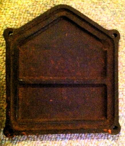 'CP' Cast Iron plate