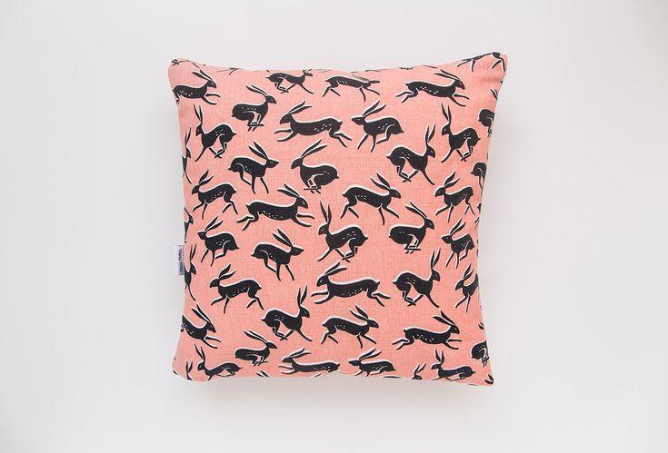 'Hare' cushion - Rosie Moss