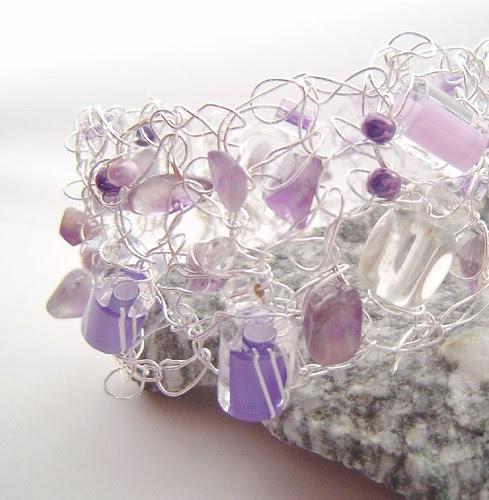 pastels purple constellation cuff