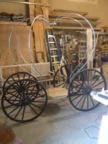 Building Cinderella's Carriage, greenfieldwoodworks.com