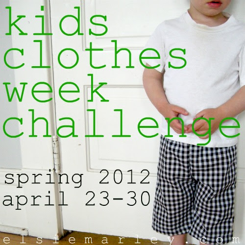 button for kids clothes week challenge
