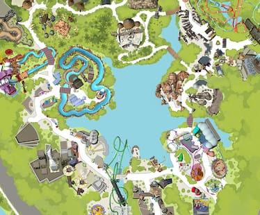 Islands Of Adventure Map