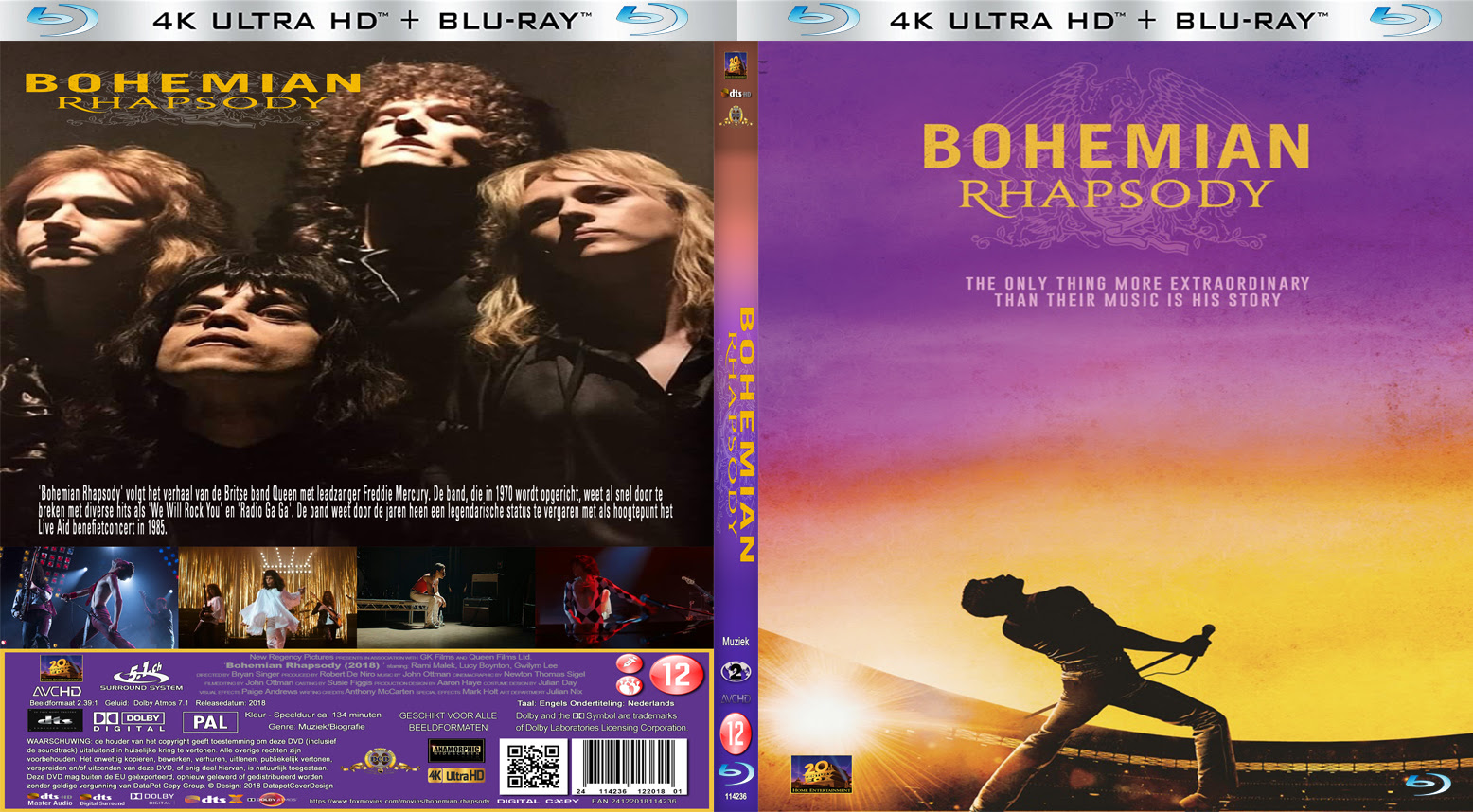 Bohemian Rhapsody Movie Blu Ray | Universal Movies Streaming