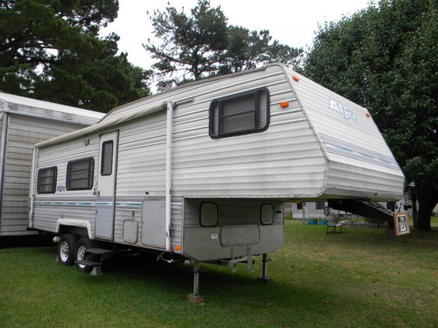 1996 Aljo 5th wheel camper | North Carolina Winterville ...