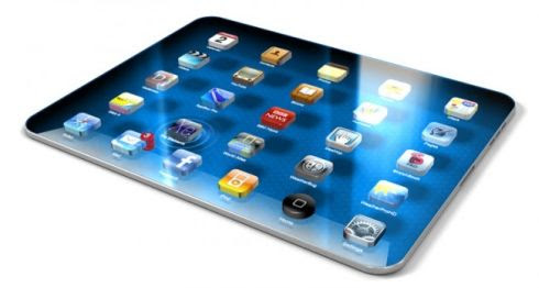 iPad 3 Blue Mockup Sure Looks Sexy With a 3D Display