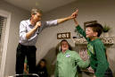 The Latest: O'Rourke sticks with coffee on St. Patrick's Day