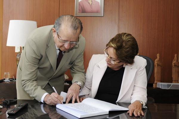 Ex-deputado Carlos Augusto Rosado tomou posse como novo secretário-chefe do Gabinete Civil