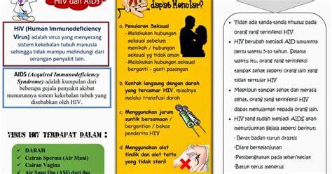 kumpulan materi kebidanan leaflet hivaids