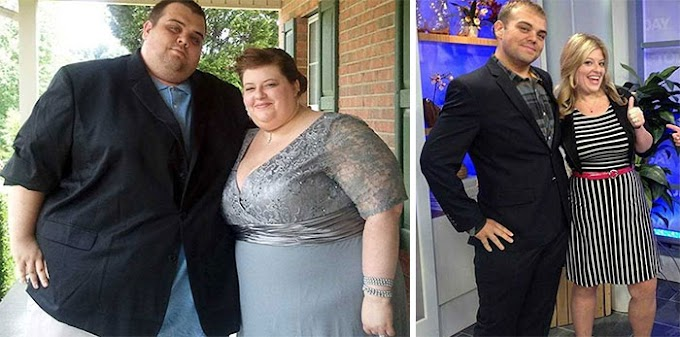 Before-And-After Photos Of Couples Losing Weight Together!