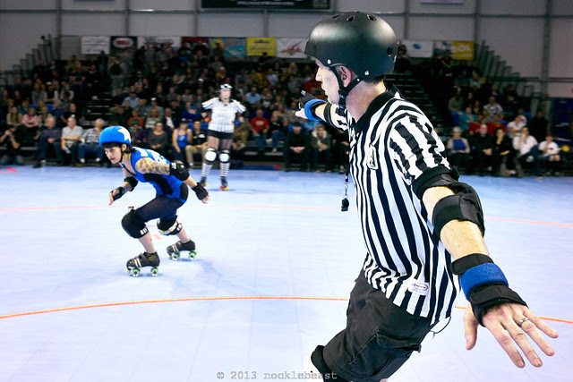 Uncle Maim is not the lead jammer.