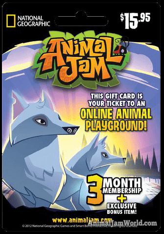 Image result for animal jam arctic wolf card