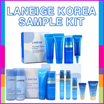 ★100% original LANEIGE KOREA SAMPLE KIT★ UP TO 4 SET GET 1 SHIPPING FEE