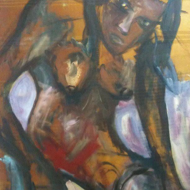 Painting by Natenadze
