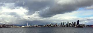 Seattle Skyline (Feb 2013)