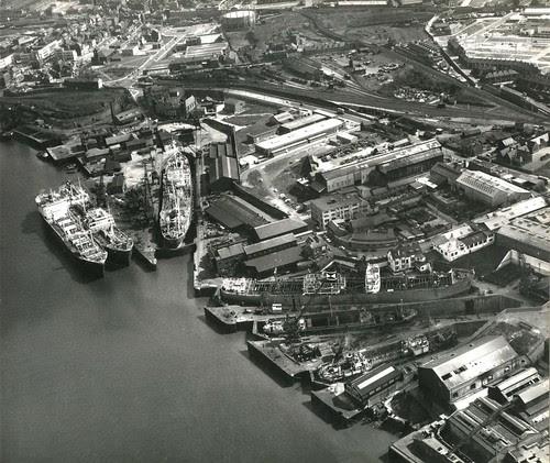 Readheads Yard 6th May 1963