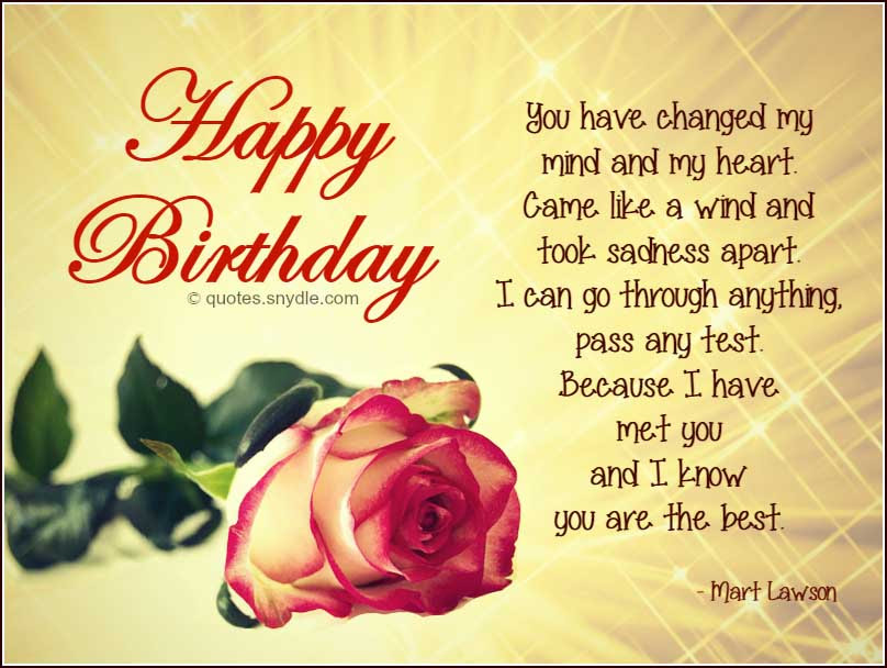 Cute Birthday Quotes For Ex Boyfriend Birthday Wishes For