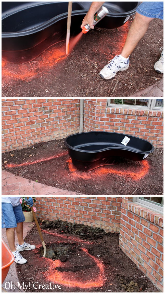 How to Build a Beautiful Pond  |  OHMY-CREATIVE.COM