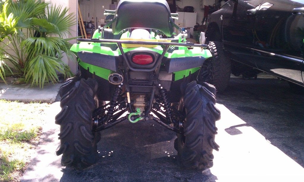 2008 Kawasaki Brute Force 750 Team Green On 31s Trucks