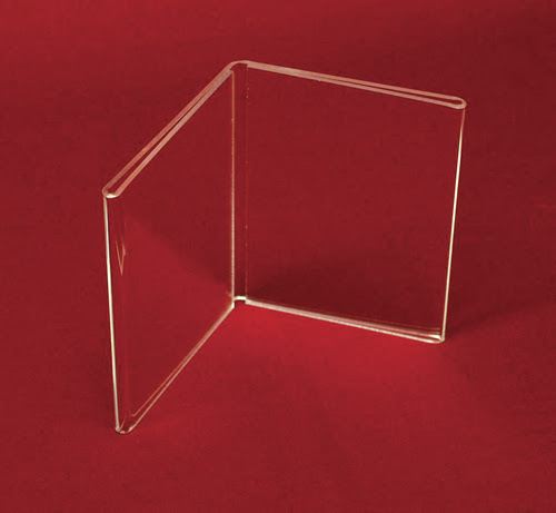 One Two And 3 Sided Acrylic Frame 105 Plastic Store Fixtures Co