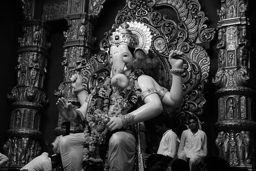 My Tryst With Lalbagh Chya Raja ...Jai Ho by firoze shakir photographerno1