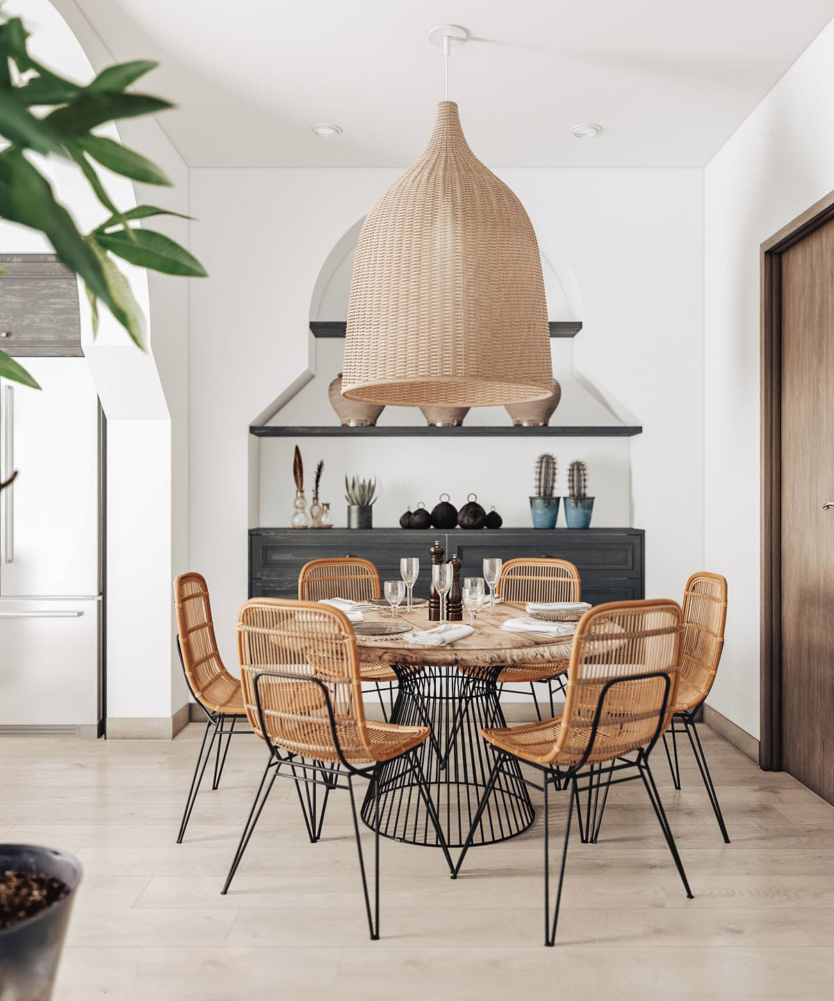 30 Rustic Dining Rooms That Radiate Refinement