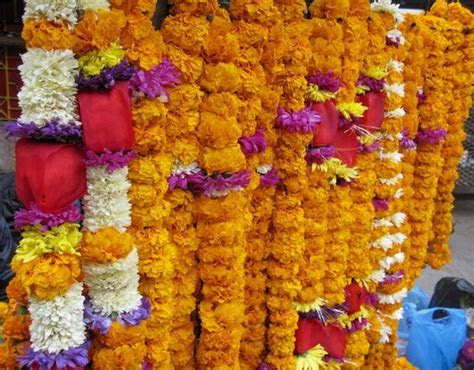 Kathmandu, Nepal marigold garlands   Event Decorating