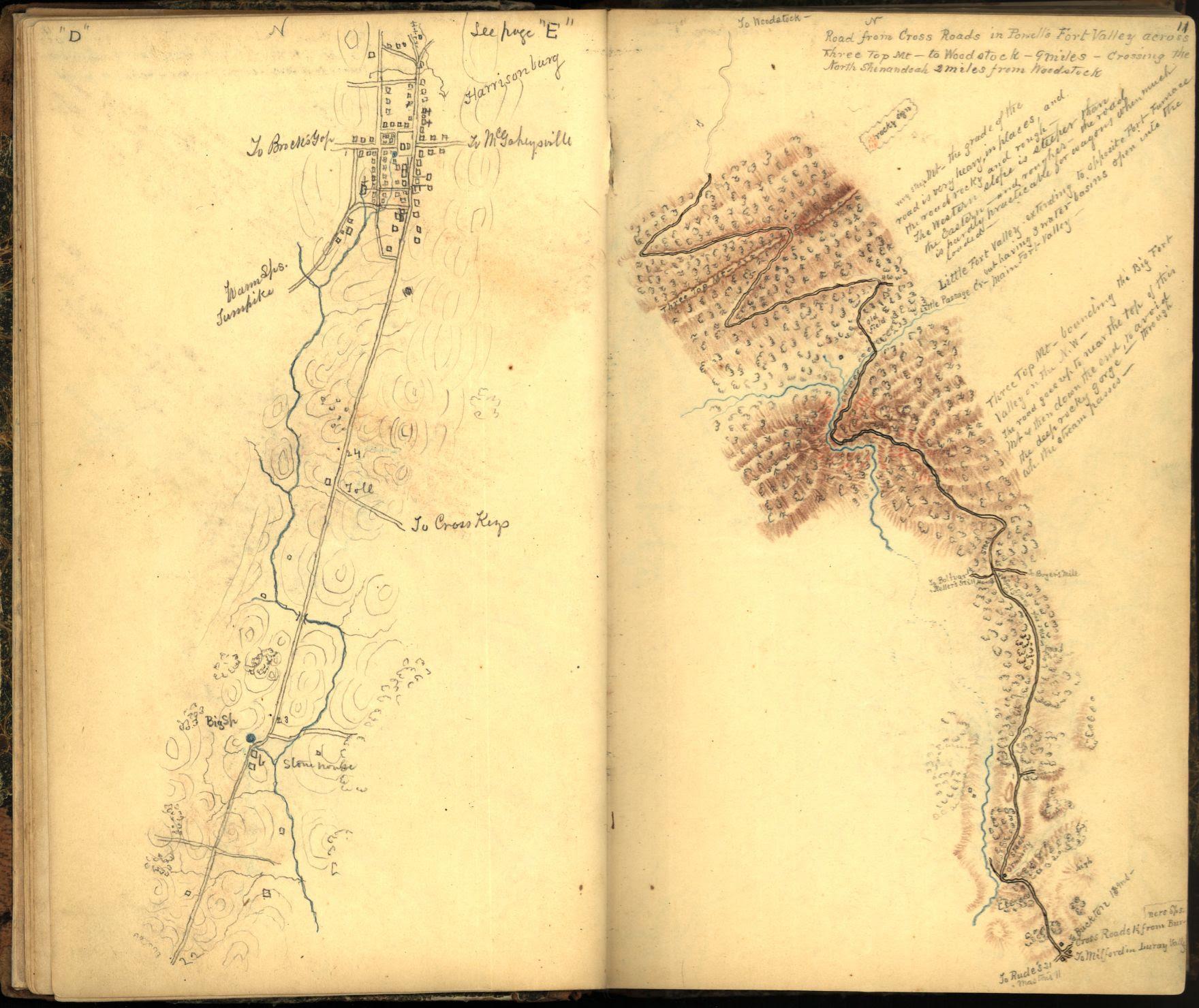 Jed Hotchkiss Maps The Shenandoah Valley Civil War Profiles