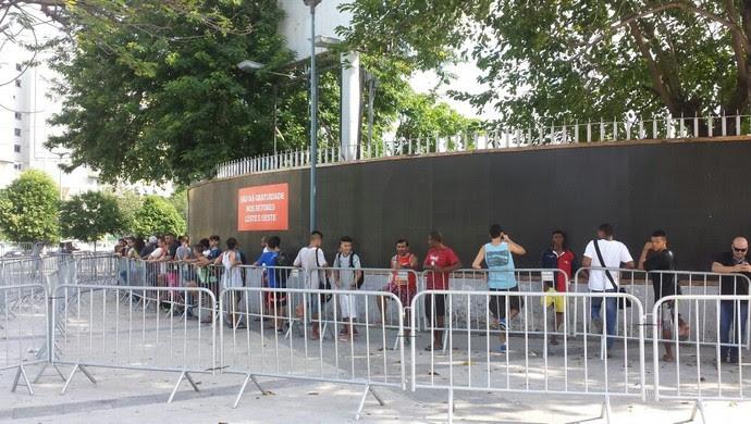 Bilheteria Maracanã (Foto: Igor Rodrigues)