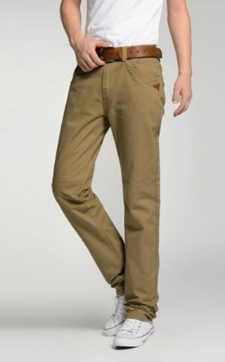 Pantalon Recto Fashion Clasico - Khaki