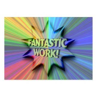 Fantastic Work ACEO Trading Card profilecard