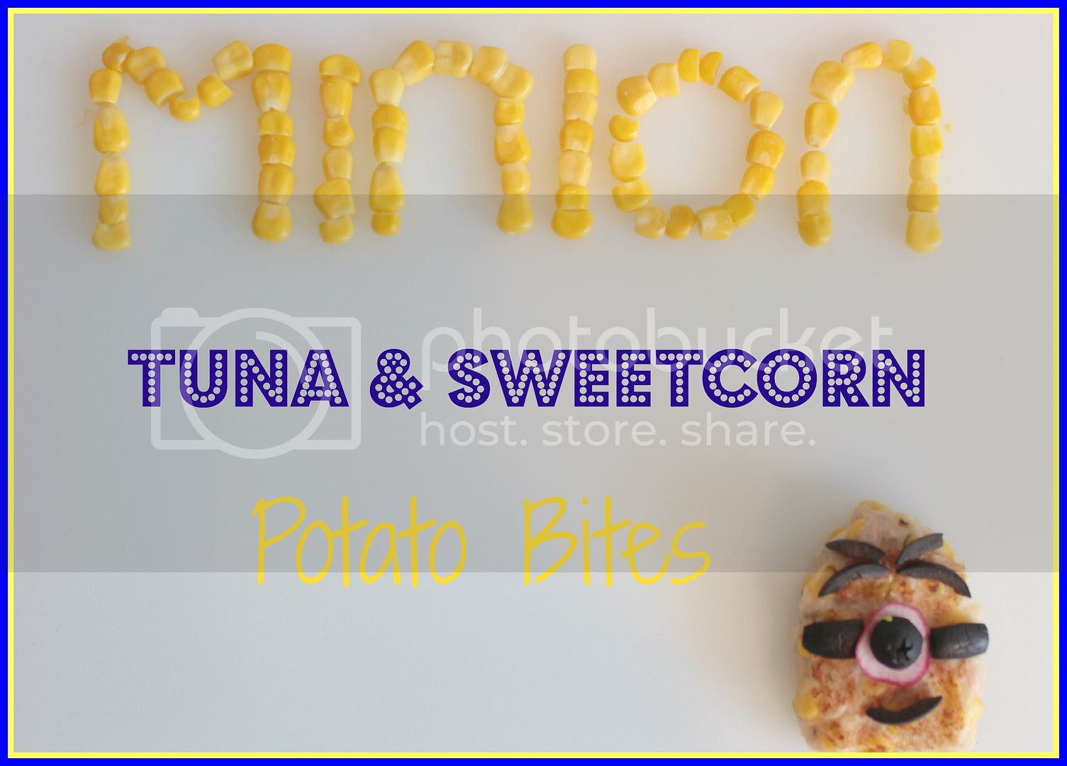tuna and sweetcorn minions