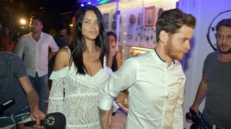 Adriana Lima Locks Lips With Metin Hara While on Vacation