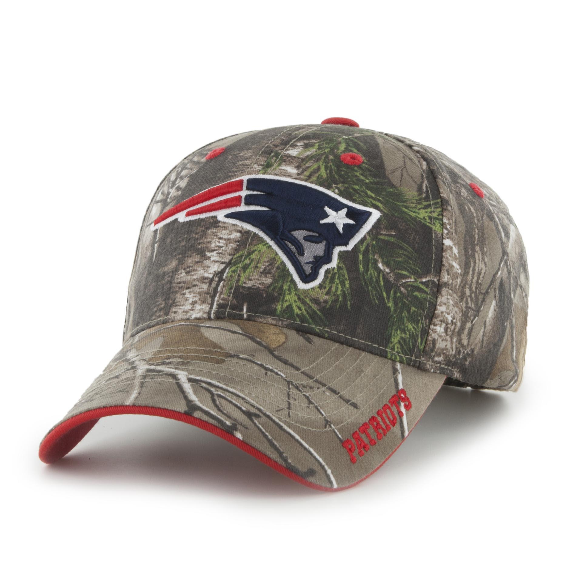 NFL Mens Camo Baseball Hat  New England Patriots