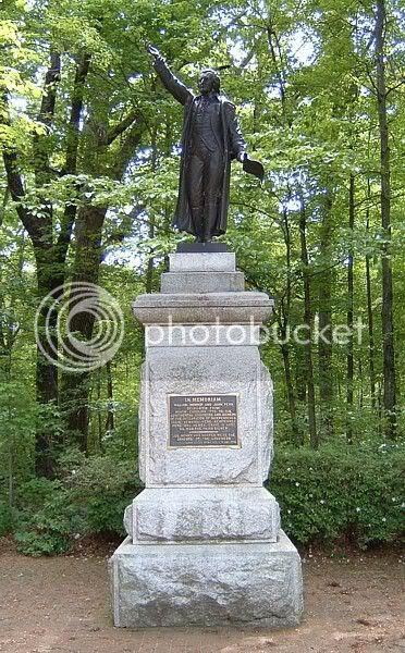 Patriot's grave
