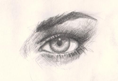 drawing eye tutorial