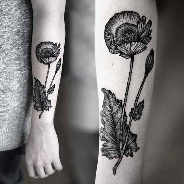 33 Of The Best Black Tattoos Designed By Kamil Czapigadesign Of Tattoos