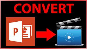 Update Terbaru : 3 Langkah Merubah PowerPoint Menjadi Video
