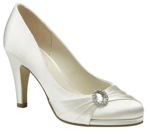 Paradox Pink Strawberry Ivory Wedding Shoes