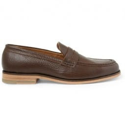 B Store Eton Leather Penny Loafers