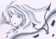 WEB picture book - 「Woman in the white world」