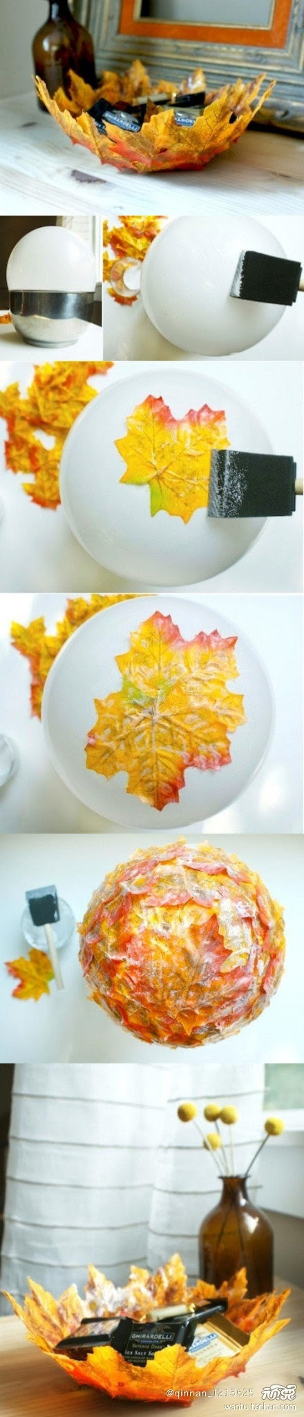 adorable leaf bowl! @K D Eustaquio DiNardo I feel like this is something you would do