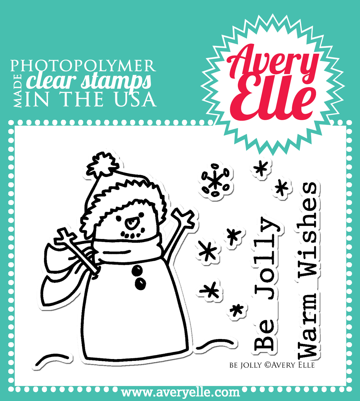 Be Jolly Clear Stamp Set