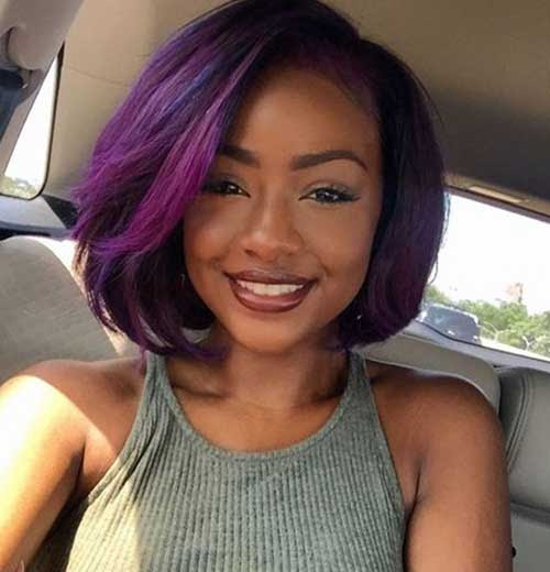 19 Side Swept Bob Hairstyle For Black Women Haircuts