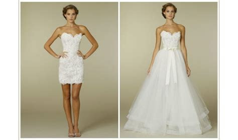 Two in one wedding dresses   Luxury Brides
