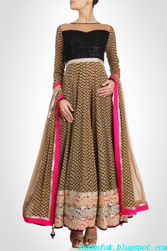Anarkali-Gorgeous-Bridal- Wedding-Ankle-Length-Dress-by-Designer-Kiran-&-Shruti-Aksh-7